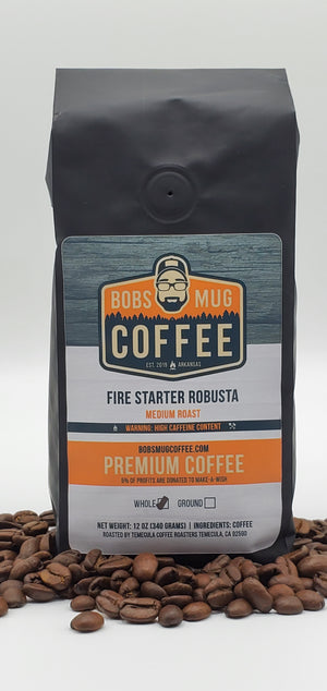 Fire Starter Robusta Coffee 12oz.