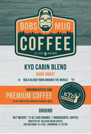 KYD Cabin Blend Coffee 12oz.