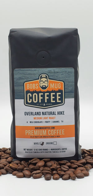 Overland Natural Hike Coffee 12oz.