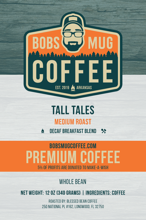 Tall Tales Coffee 12oz. (Decaf)