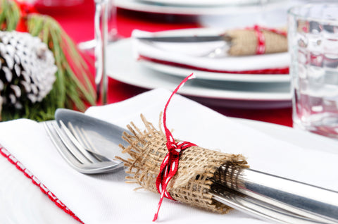 Little touches can really brighten up your holiday table