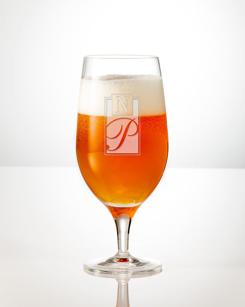 Metro Brew Beer Glass