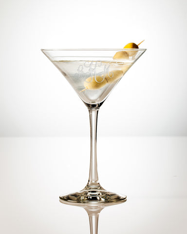 Twist Martini Glass