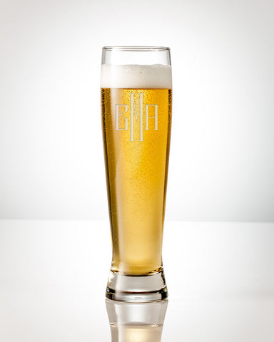 Sky Brew Tall Beer Glass