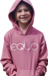 EQUO Kid's Embroidered Hoodie
