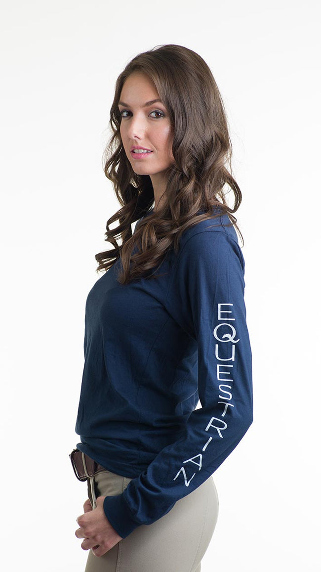 equo-every-day-barn-tee-long-sleeve-womens-navy-front