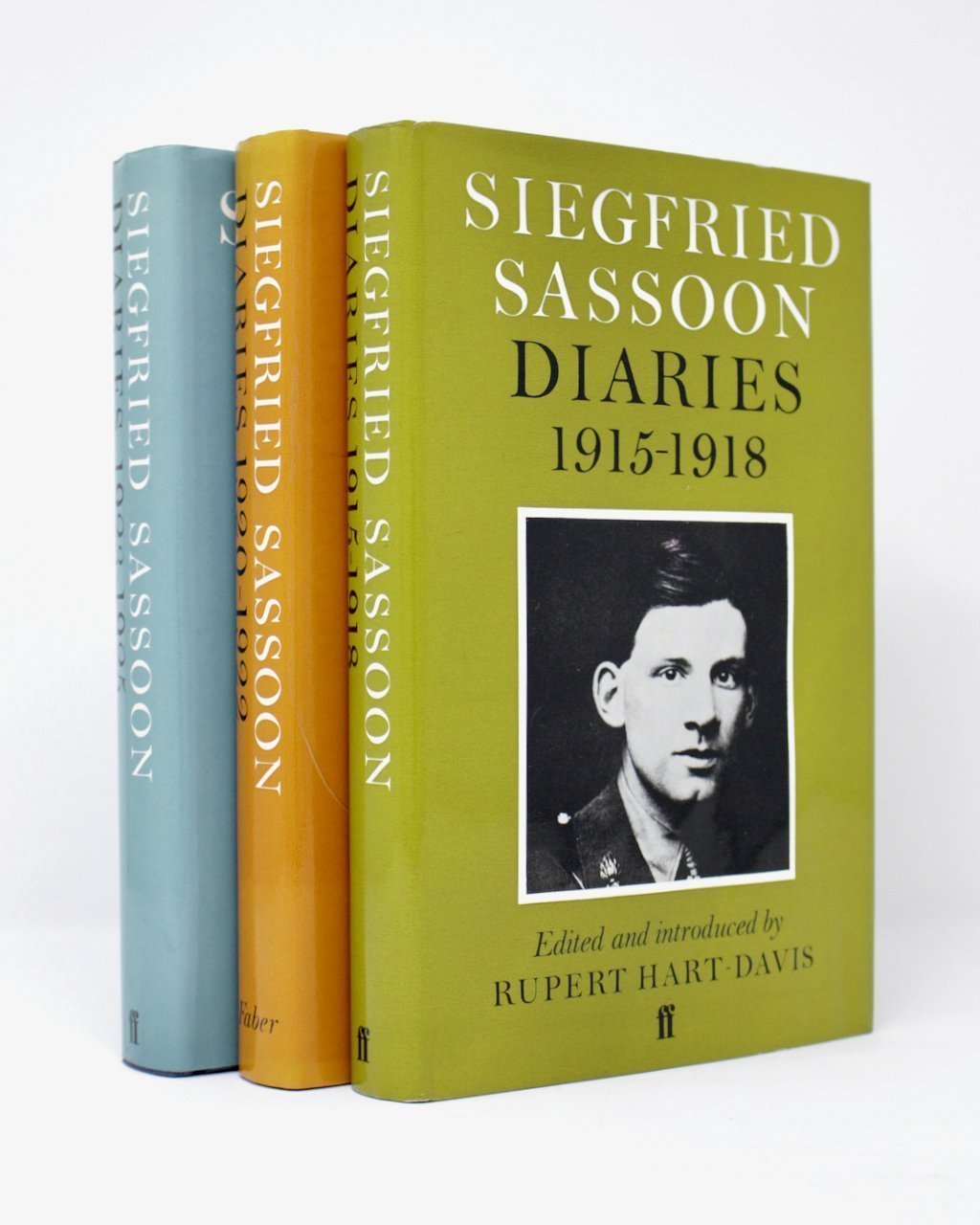 1915-1925 (IN 3 VOLS.) BY SIEGFRIED SASSOON