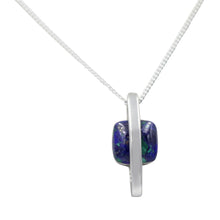 Load image into Gallery viewer, Laps Lazuli Square Pendant