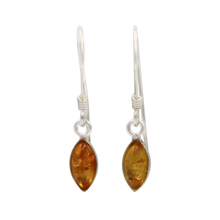 Load image into Gallery viewer, An Elegant Yellow Amber Necklaces Set presented in handcrafted .925 Sterling Silver