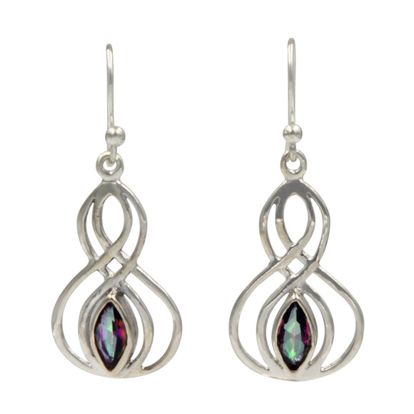 Earrings Mystic Topaz