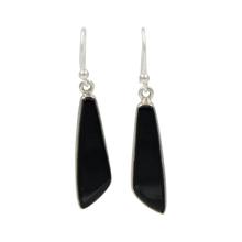 Load image into Gallery viewer, Art Deco Lapis Lazuli EarringSimple Art Deco Black Onyx Earring