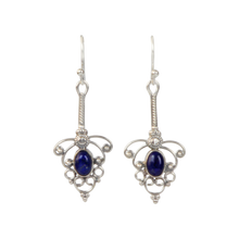 Load image into Gallery viewer, Sundari Timeless Classic Drop Earring with a Beautiful Cabochone