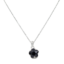 Load image into Gallery viewer, Star shape pendant Black Onyx  Zirconia