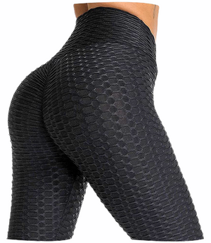 Nicolzie Active-Butt Lifting Cross Weave Leggings- available in Pink, White, Black & Grey