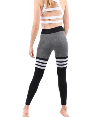 Nicolzie Active Premium - Thigh High Legging - Black
