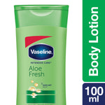 Vaseline Intensive Care Aloe Fresh Body Lotion 100 ml (Pack of 3)