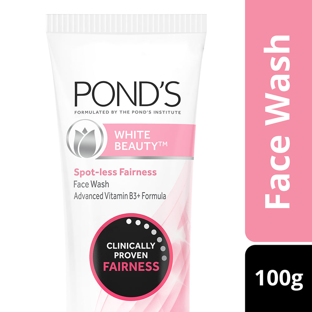 Pond's White Beauty Spot Less Fairness Face Wash, 100 g