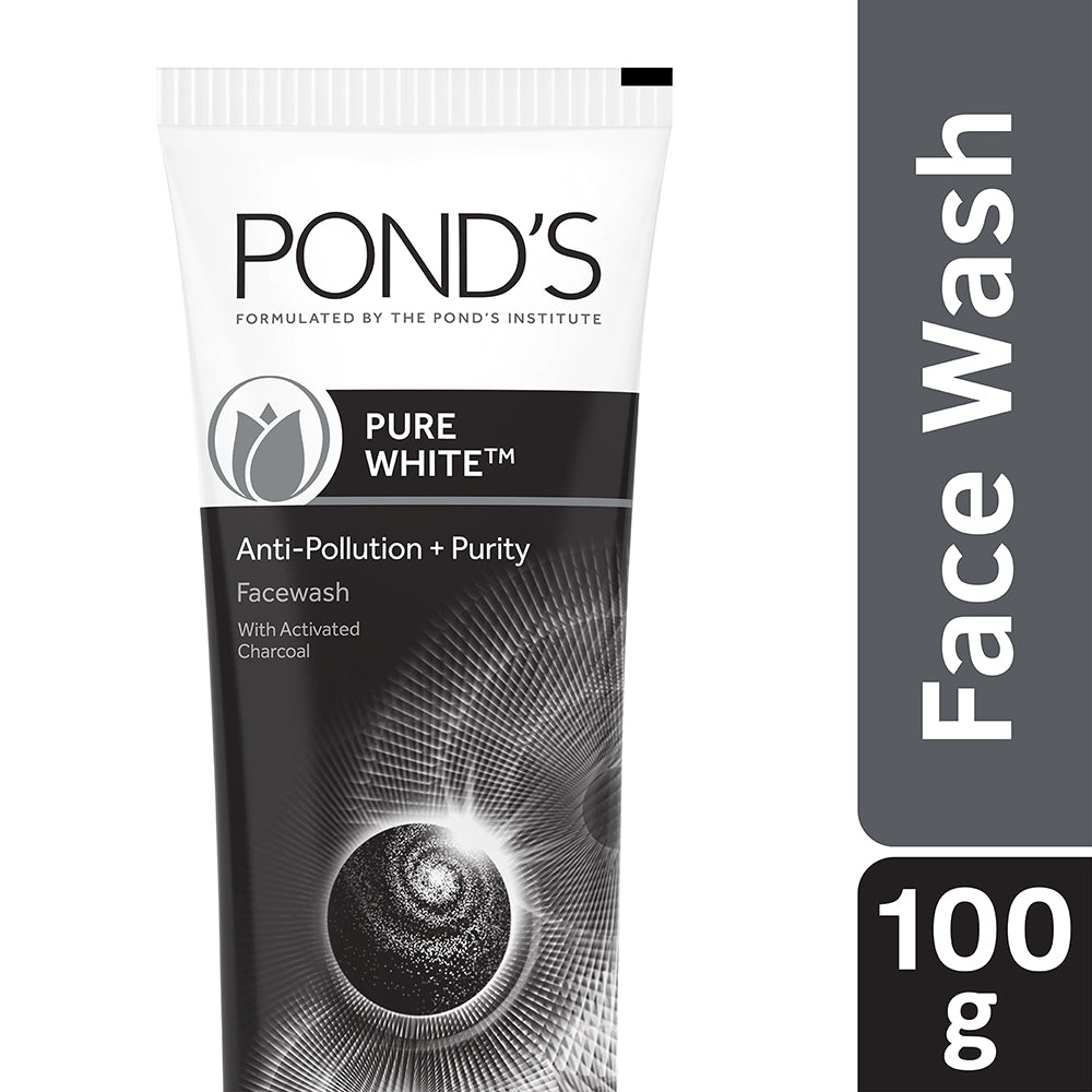 Pond's Pure White Anti Pollution Face Wash 100 g