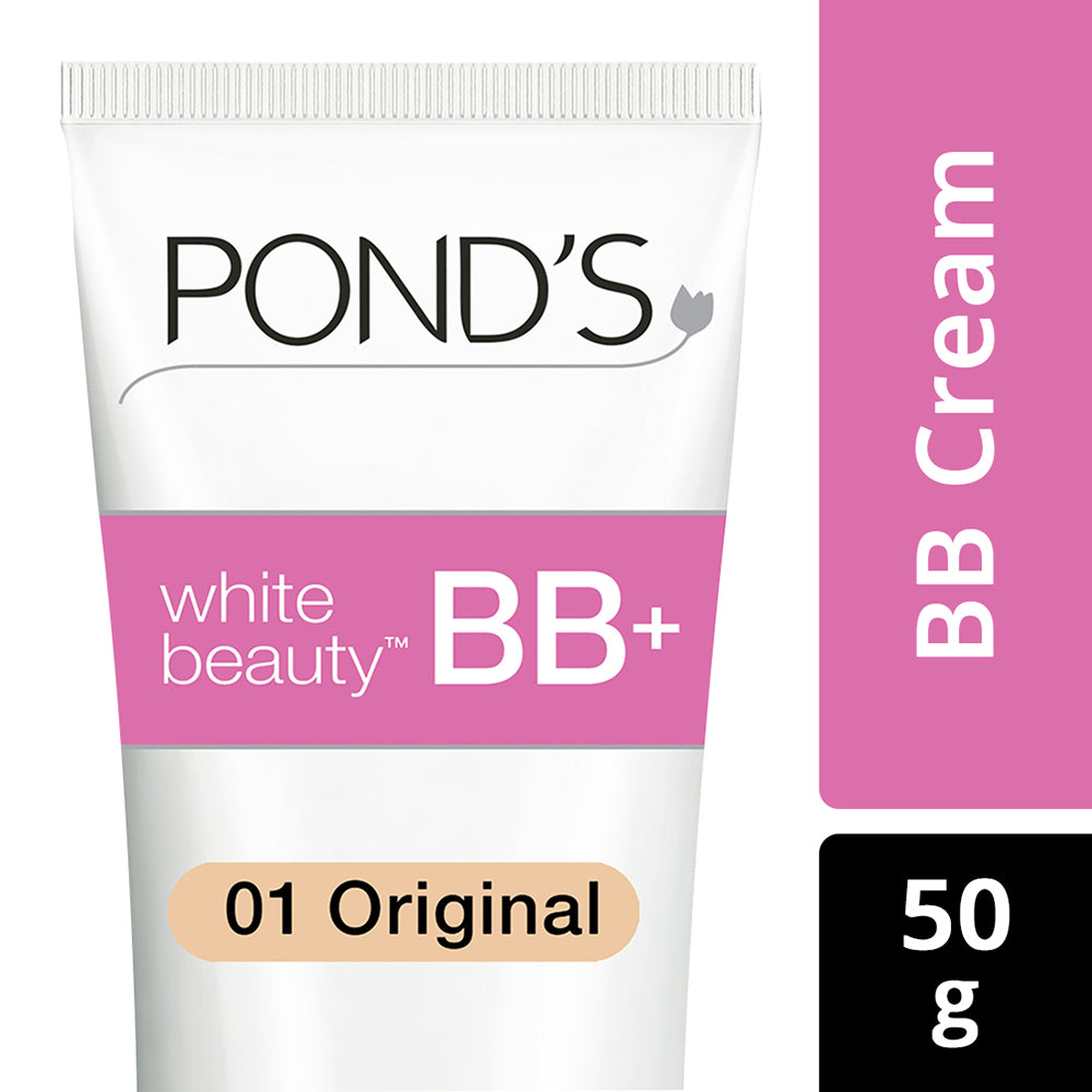 POND'S BB+  Cream, Instant Spot Coverage + Natural Glow, 01 Original, 50 g