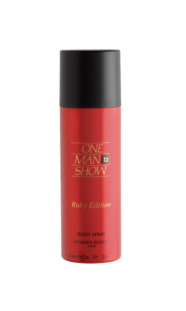 Jacques Bogart One Man Show Ruby Deodorant Spray 200ml, 10% Off