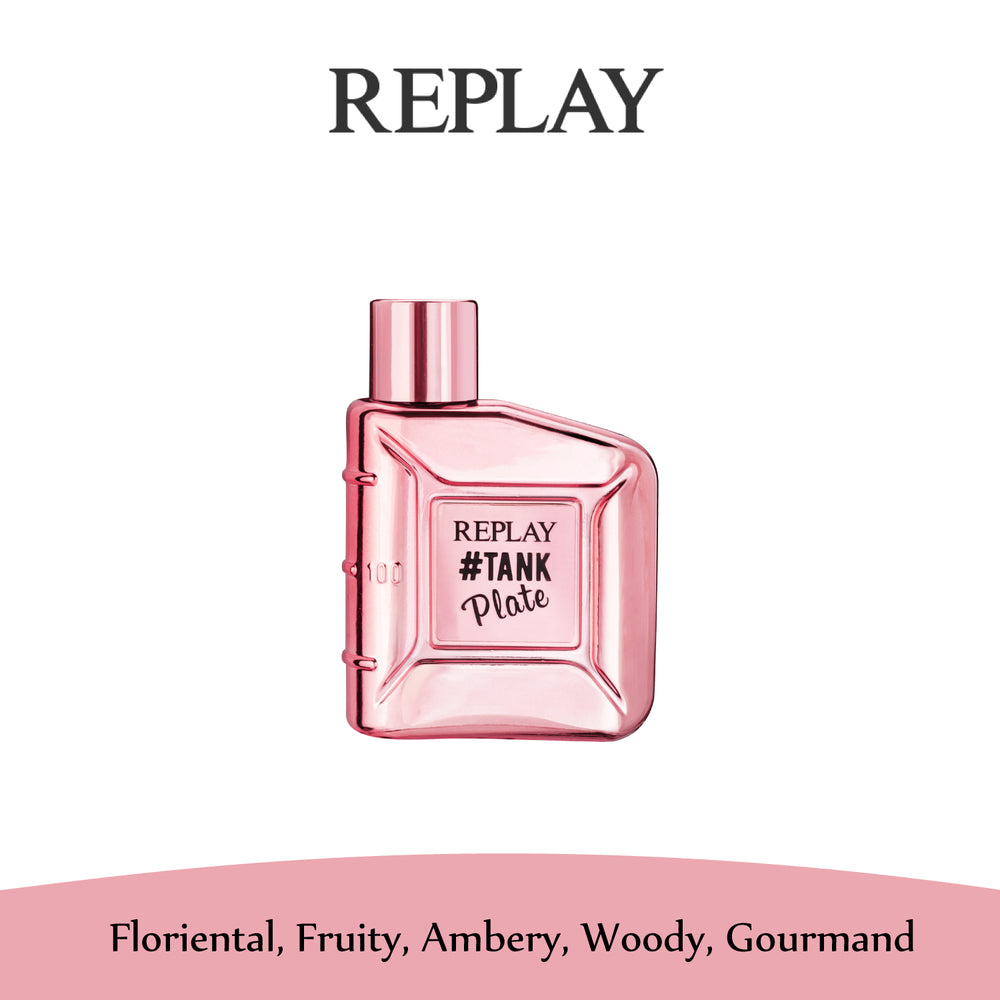 Replay #Tank Plate Eau de Toilette For Her 100ml