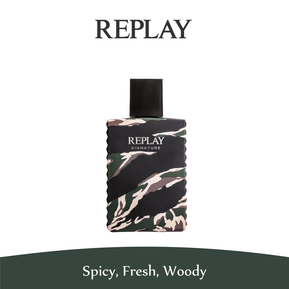 Replay Signature For Him Eau de Toilette 100ml