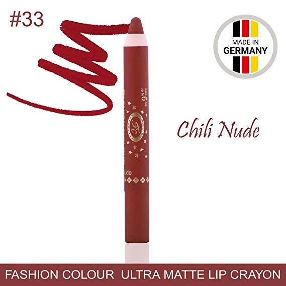 Ultra Matte Lip Crayon Chilly Nude Lipstick