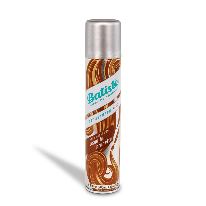 Batiste Instant Hair Refresh Dry Shampoo Plus With a Hint of Colour Beautiful Brunette