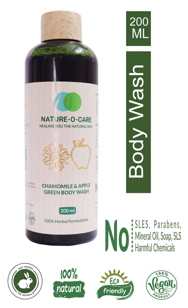 Nature-o-care Chamomile &Apple Green Body Wash