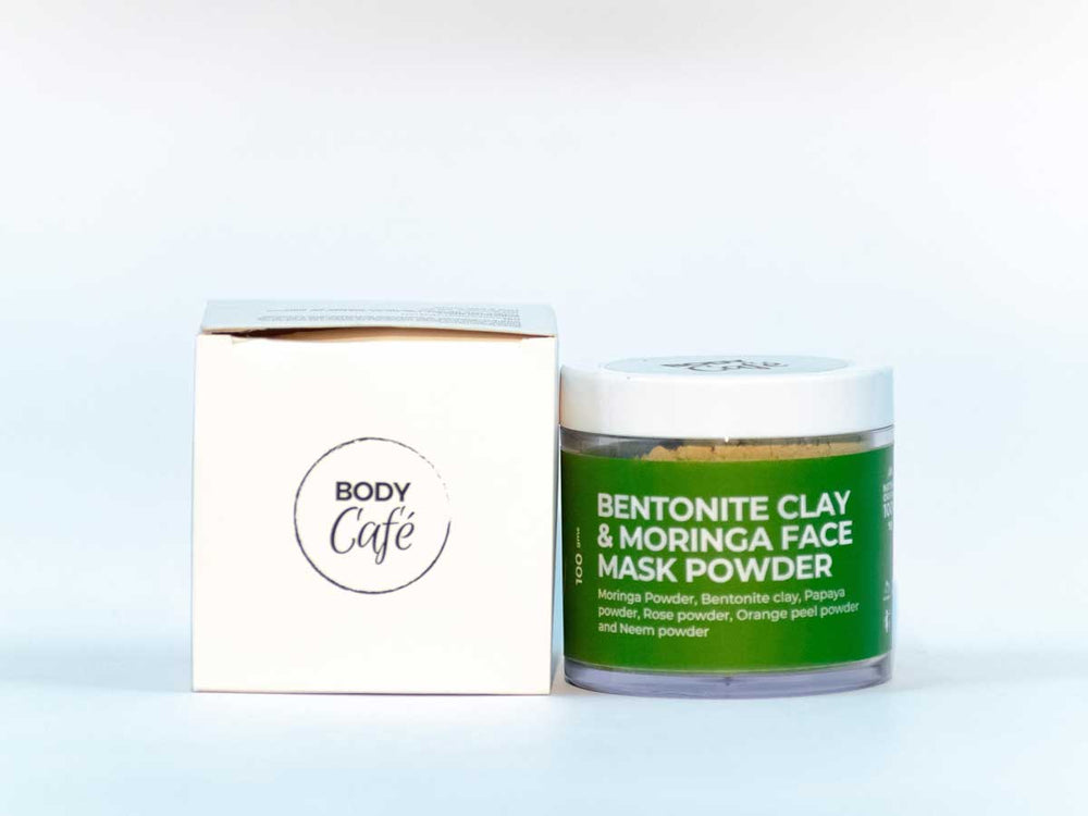 Bentonite & Moringa Face Pack Powder