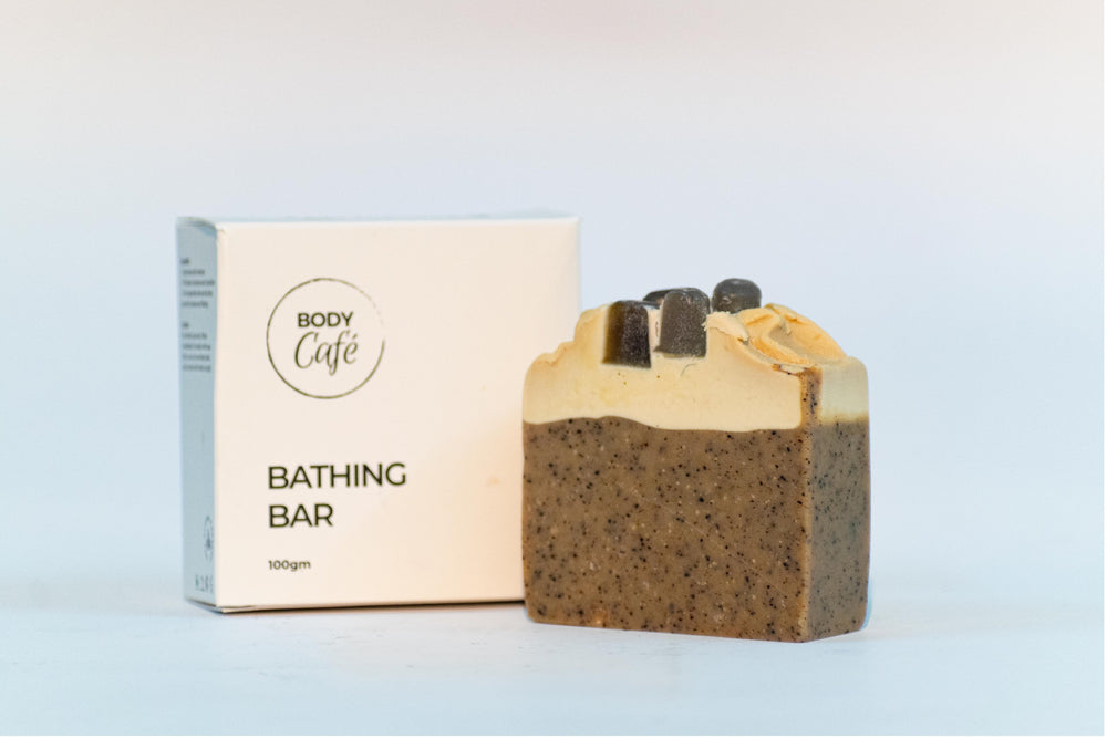 Mocha Sativum (Hemp Oil, Arabica Coffee and French Vanilla) BATHING BAR