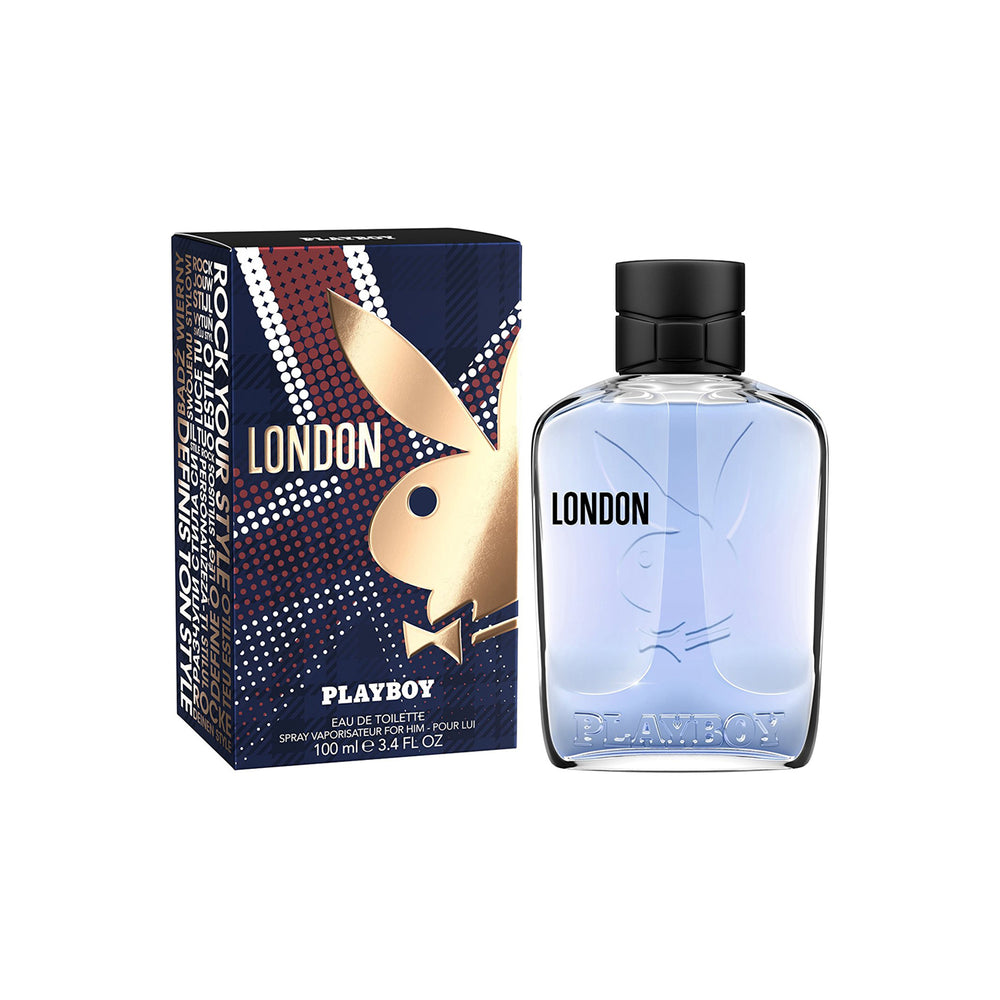 Playboy London Man New Eau de Toilette 100ml, 25% Off