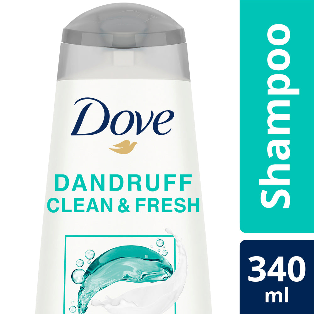 Dove Dandruff Clean & Fresh Shampoo, 340 ml