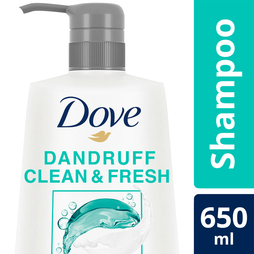 Dove Dandruff Clean & Fresh Shampoo, 650 ml