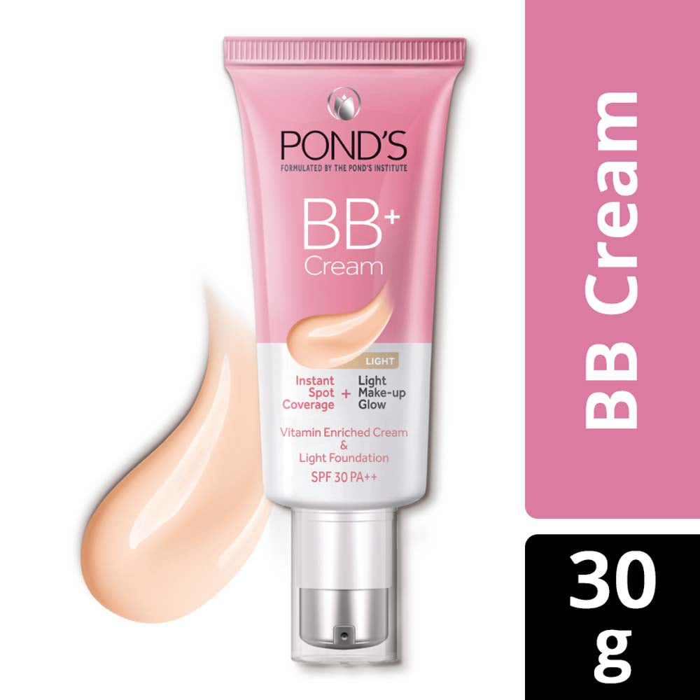 POND'S BB+  Cream, Instant Spot Coverage + Natural Glow, 01 Original 30 g