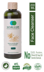 NATURE-O-CARE Neem & Aloe Vera Face Cleanser