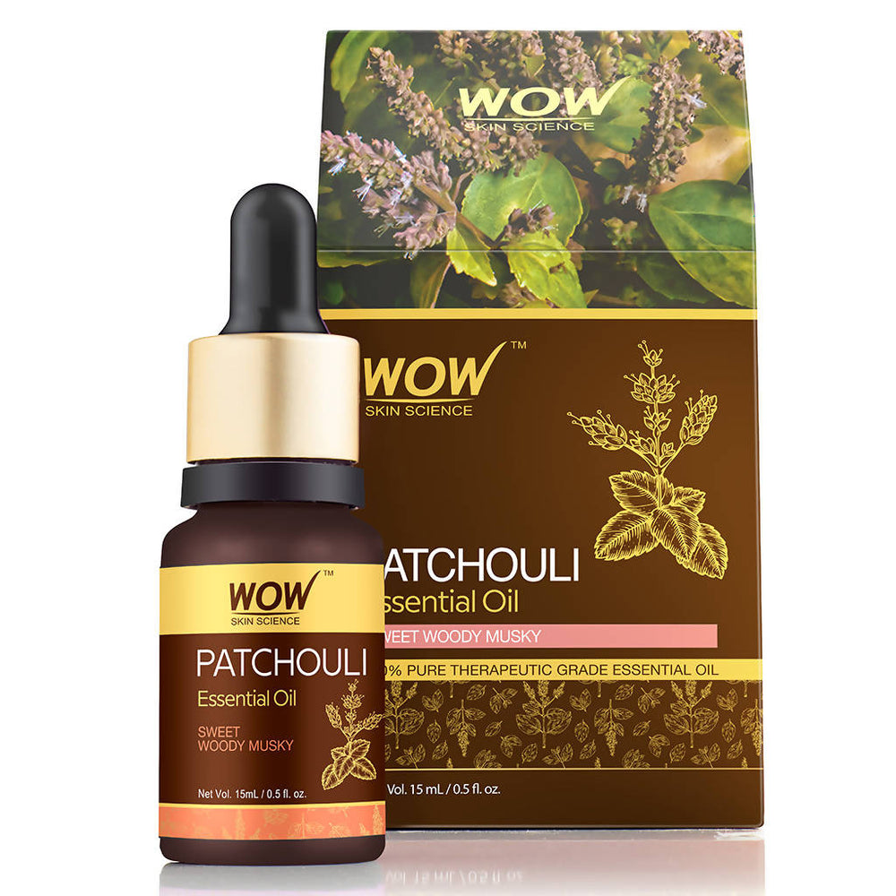 WOW Skin Science Patchouli Essential Oil - 15 mL