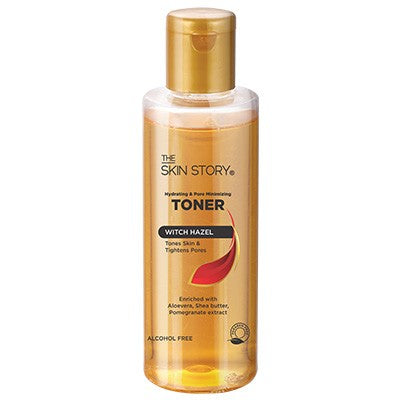 Hydrating and Pore Minimizing Toner, Witch Hazel, No Alcohol, 100 ml-The Skin Story