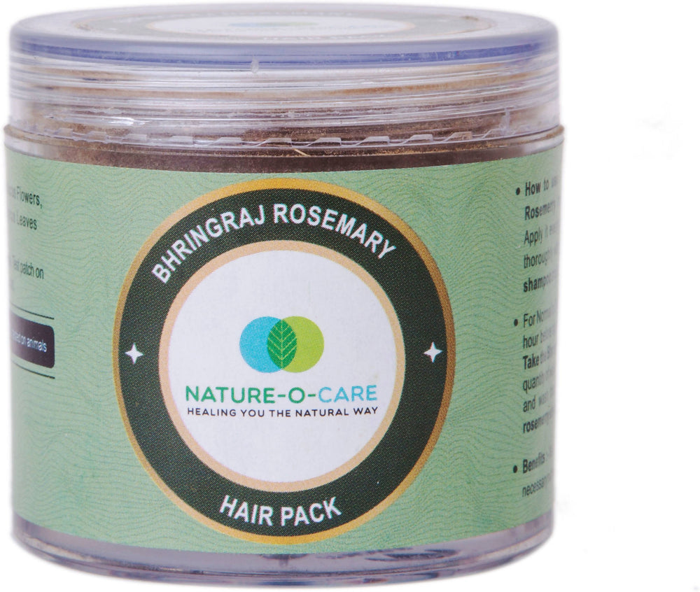 NATURE-O-CARE Bhringraj Rosemary Hair Pack