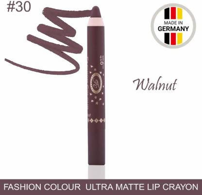 Ultra Matte Lip Crayon Walnut Lipstick
