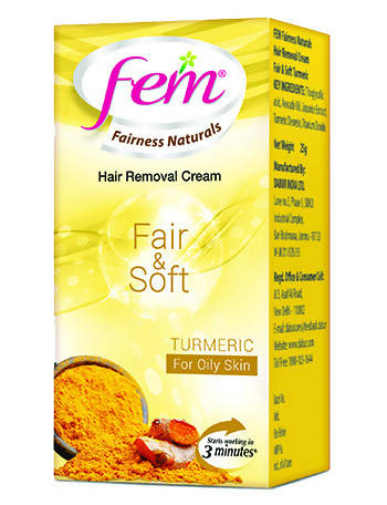 Fem Hair Removal Cream - Turmeric