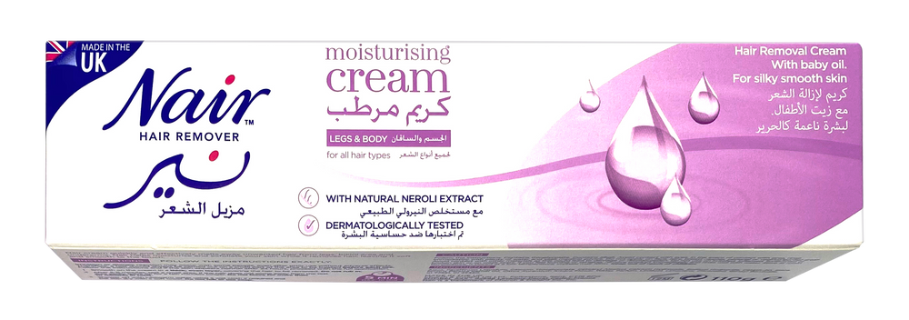 Nair Hair Remover Moisturizing Hair Removal Cream