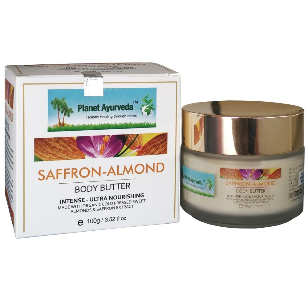 Saffron-Almond Body Butter