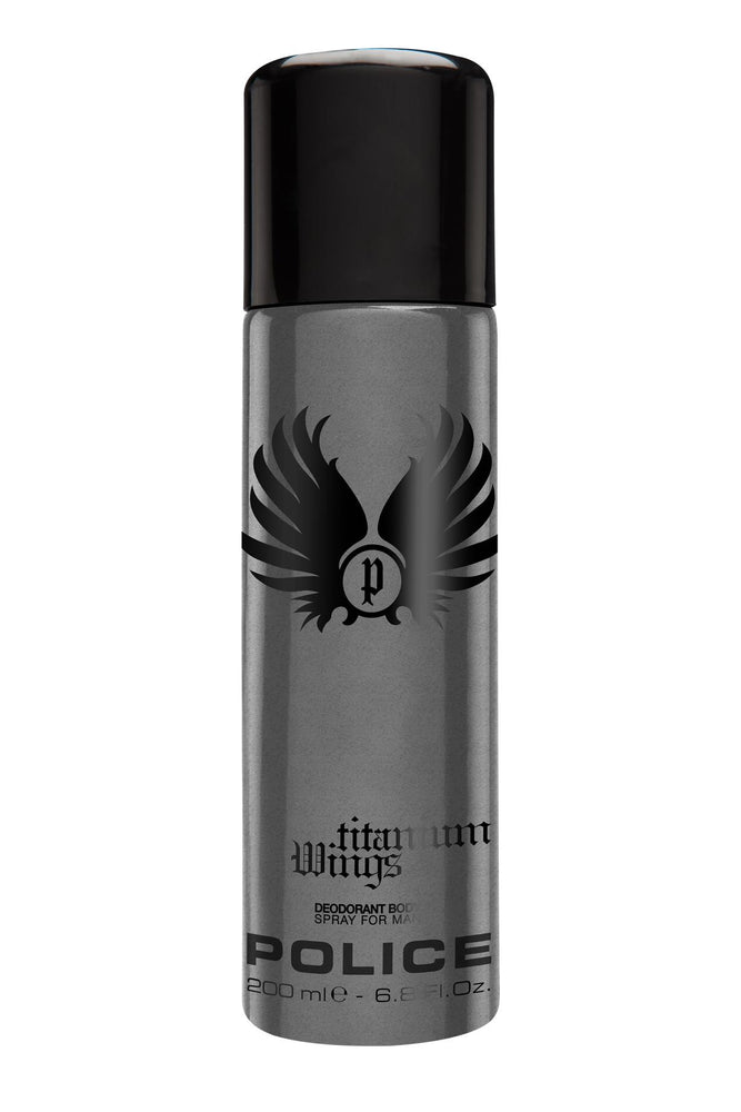 Police Wings Titanium Deodorant Spray 200ml, 5% Off