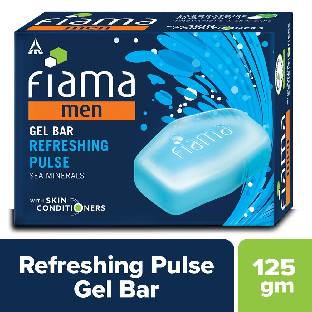 Fiama Men Refreshing Pulse Gel Bar