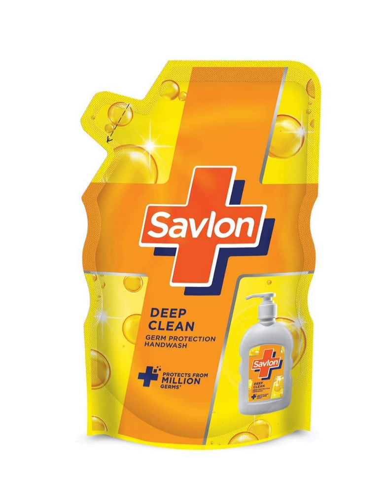 Savlon (Pack of 2) Deep Clean Handwash Refill - 725ml  (41% Off)