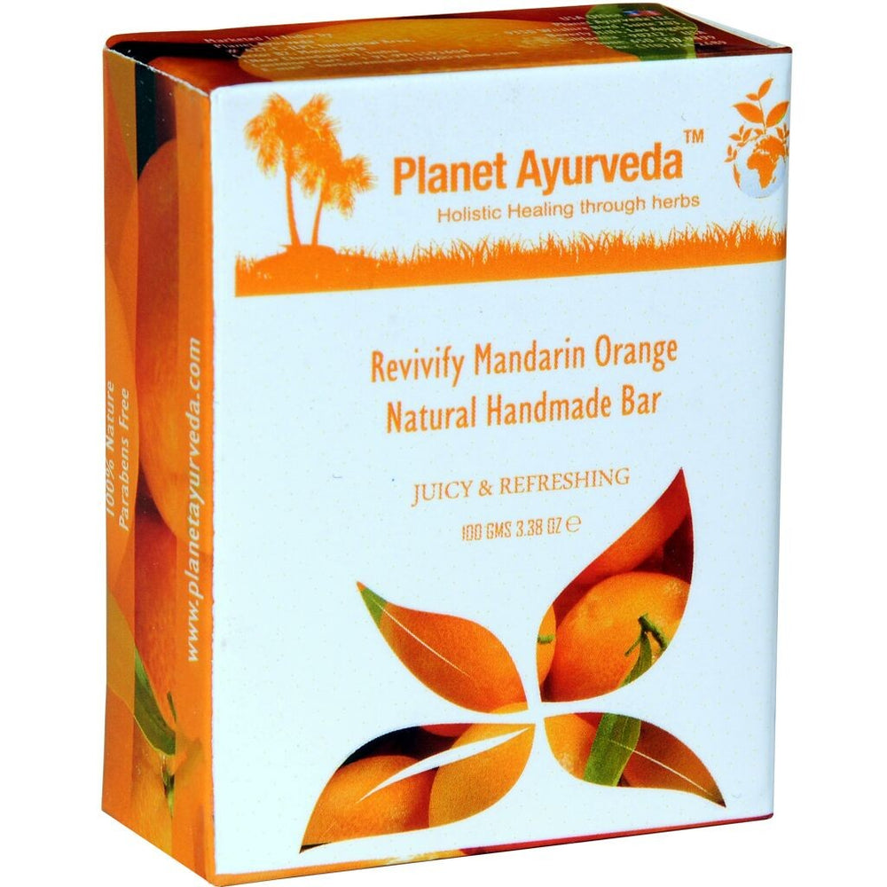 Revivify Mandarin Orange Natural Handmade Bar - 2 Bar