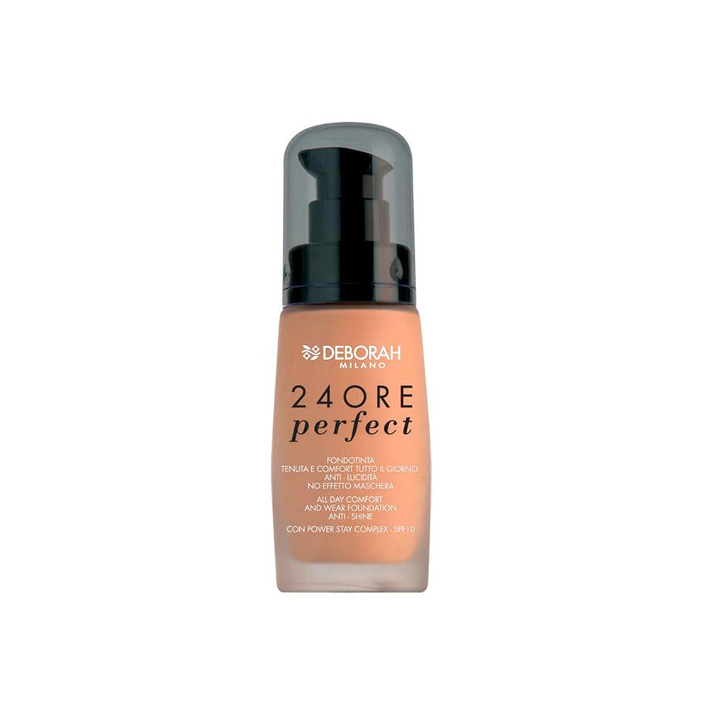 Deborah Milano 24Ore Perfect Foundation - 3 Caramel Beige