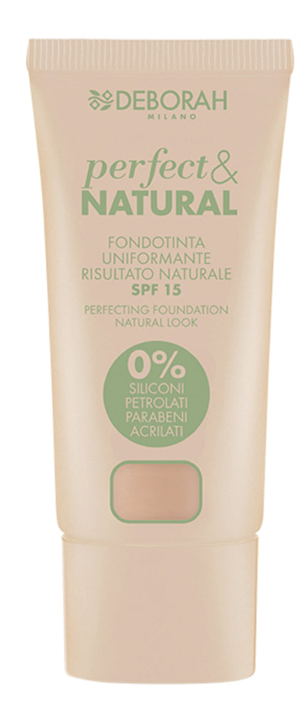 Deborah Milano Perfect & Natural Foundation - 2 Light Rose
