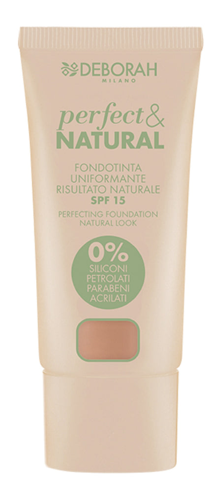 Deborah Milano Perfect & Natural Foundation - 5 Apricot